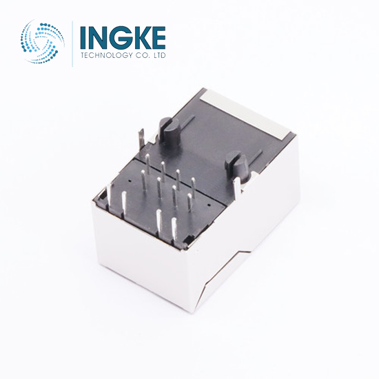 1x1 Tab Up 2.5G(2500) BASE-T RJ45 Magjack Connector with LED
