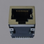 100Base-T Tab Down SMT RJ45 Magjack Connector
