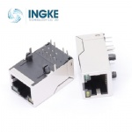 5G BASE-T PoE Plus+ RJ45 Magjack Connector Long Body