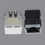1000Base-T RJ45 Ethernet Connector Gigabit Magnetic Jack
